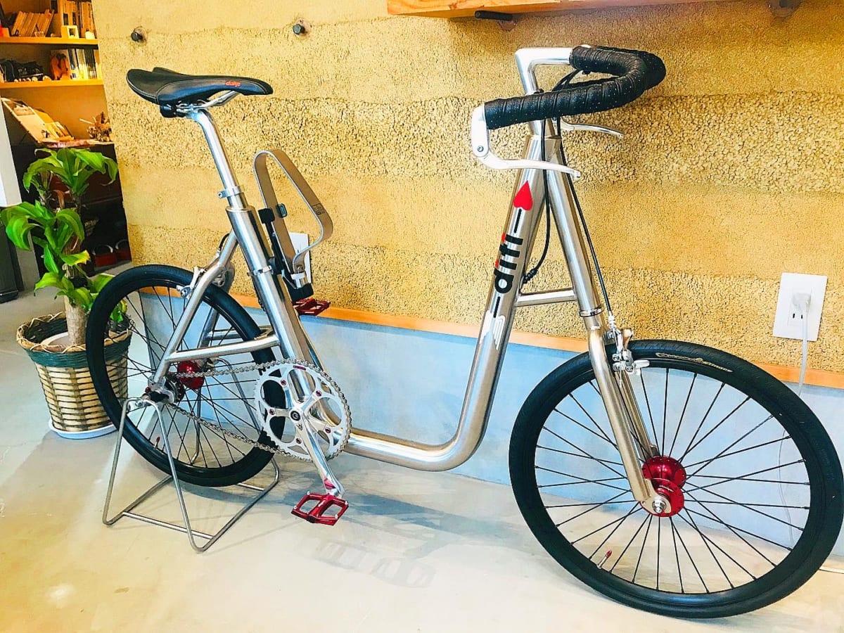 佐助カフェに出展する「made in Kamakura 自転車展示」の展示イメージ